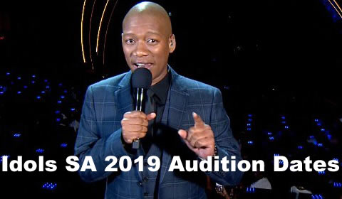 Here are the Idols SA 2019 audition dates